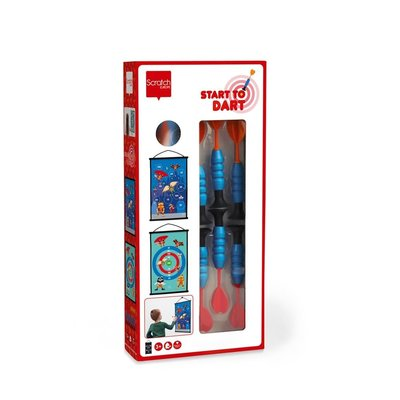 Scratch Start To Dart Board Superheroes