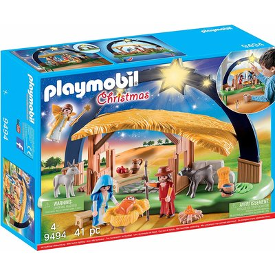 Playmobil Playmobil Christmas Iluminating Nativity Scene