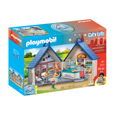 Playmobil Playmobil Take Along Diner