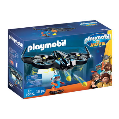 Playmobil Playmobil The Movie Robotitron with Drone
