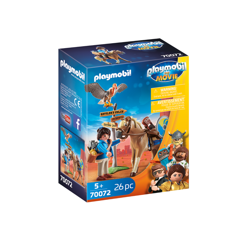 Playmobil Playmobil The Movie Maria with Horse
