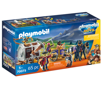 Playmobil The Movie Charlie with Prison Wagon