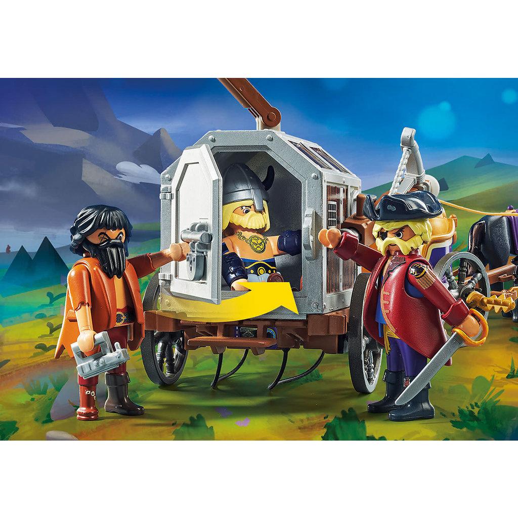 Playmobil Playmobil The Movie Charlie with Prison Wagon