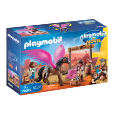 Playmobil Playmobil The Movie Marla and Del with Flying Horse