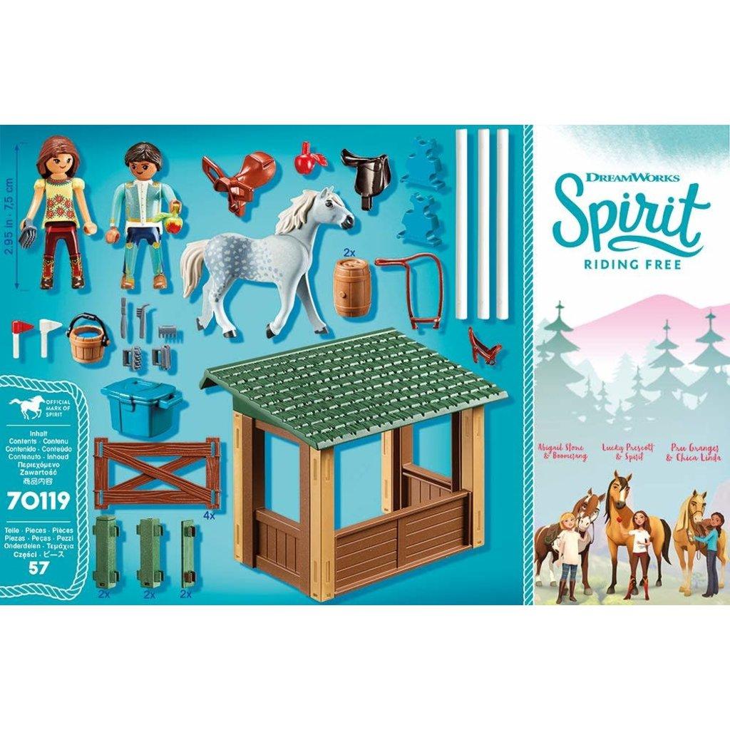 Playmobil Playmobil Spirit II Riding Arena with Lucky & Javier