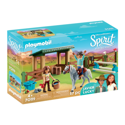 Playmobil Playmobil Spirit II Riding Arena with Lucky & Javier