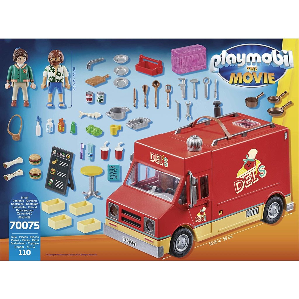 Playmobil Playmobil The Movie Del's Food Truck