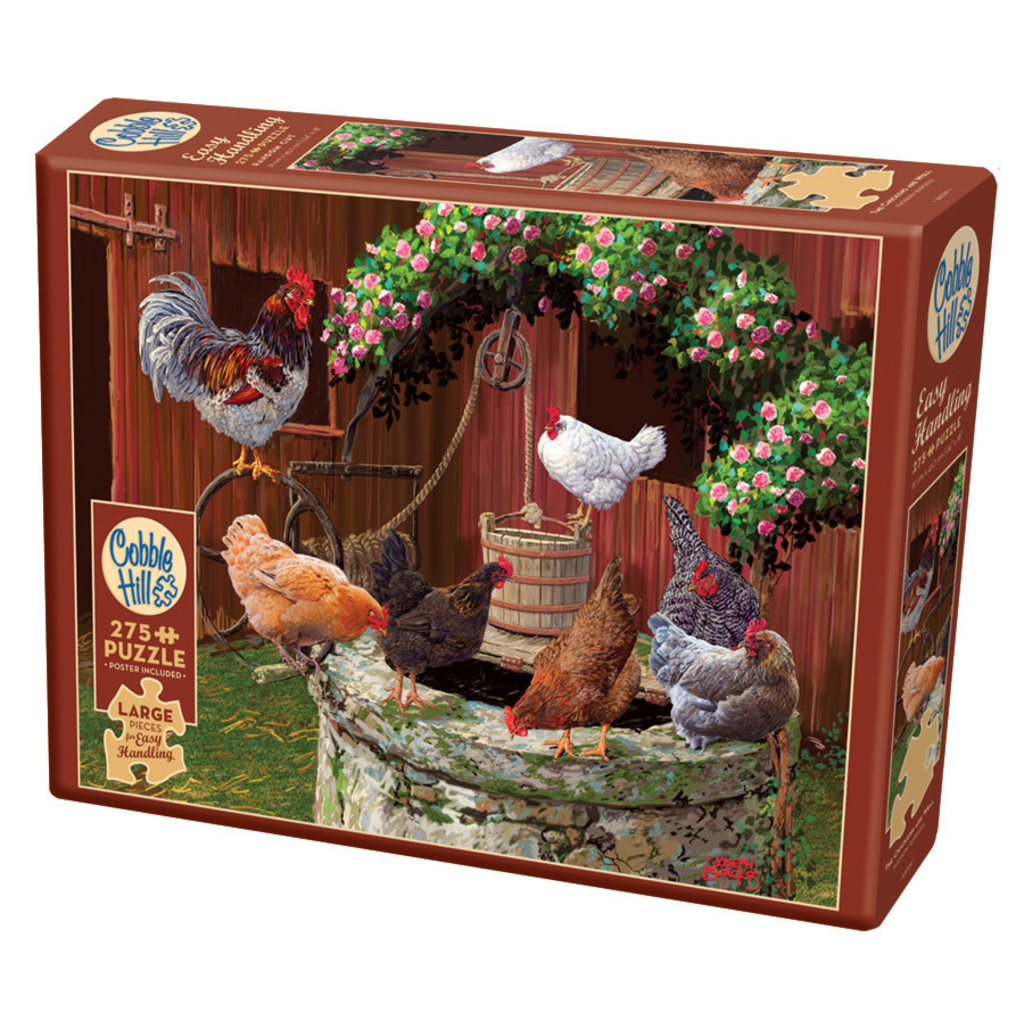 Cobble Hill Puzzles Cobble Hill Puzzle 275pc The Chickens are Well