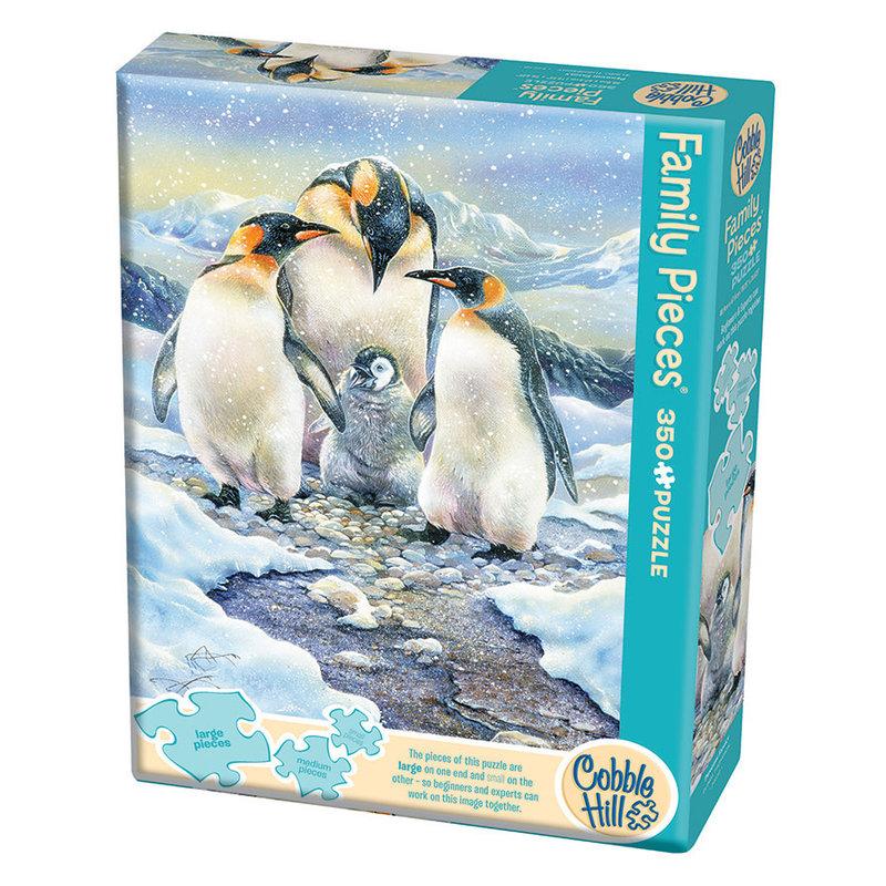 Cobble Hill Puzzles Cobble Hill Family Puzzle 350pc Penguin Family