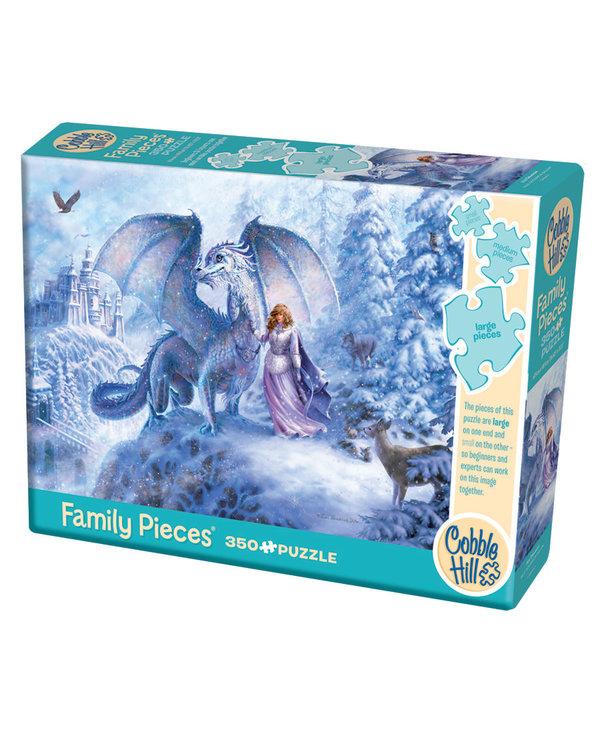 Cobble Hill Family Puzzle 350pc Ice Dragon