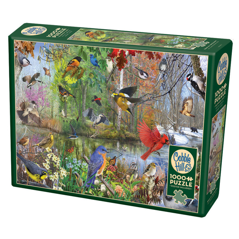 Cobble Hill Puzzles Cobble Hill Puzzle 1000pc Birds of the Season