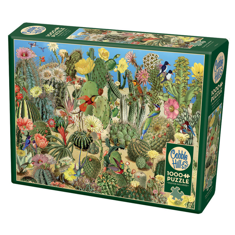 Cobble Hill Puzzles Cobble Hill Puzzle 1000pc Cactus Garden