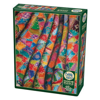 Cobble Hill Puzzles Cobble Hill Puzzle 1000pc Crazy Quilt