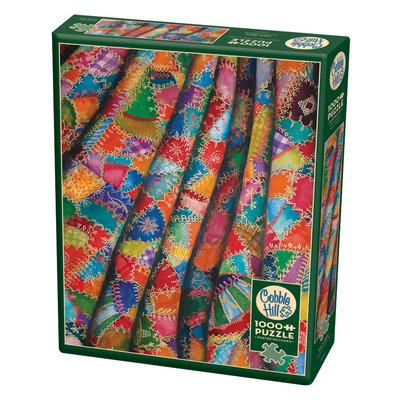 Cobble Hill Puzzles Cobble Hill Puzzle 1000pc Crazy Quilt