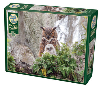 Cobble Hill Puzzle 1000pc Great Horned Owl