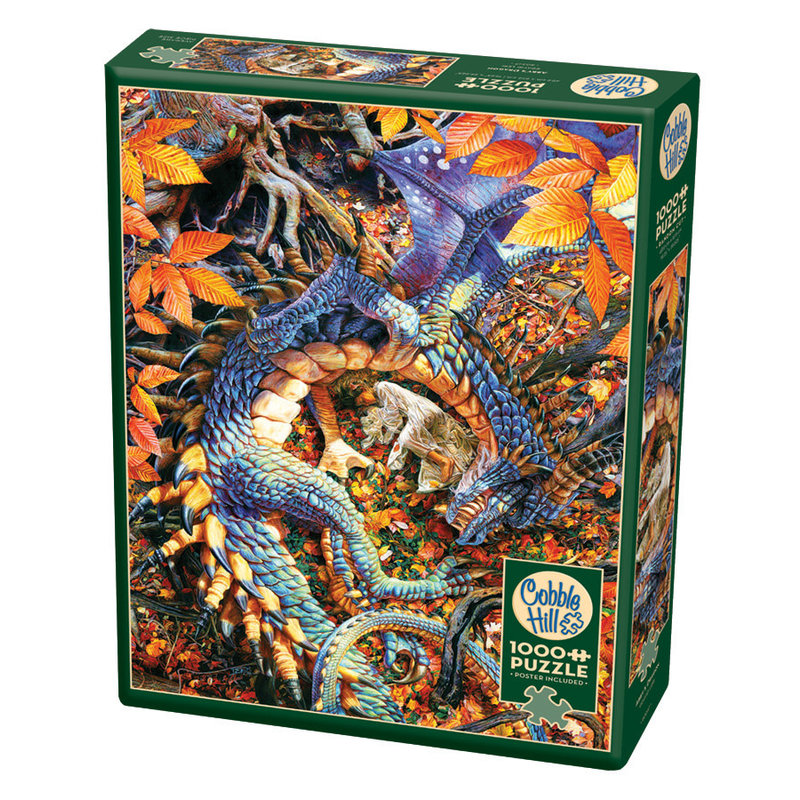 Cobble Hill Puzzles Cobble Hill Puzzle 1000pc Abby's Dragon