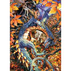 Cobble Hill Puzzles Cobble Hill Puzzle 1000pc Abby's Dragon