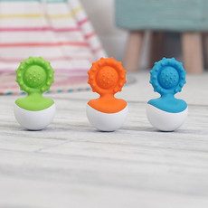 Fat Brain Toys Fat Brain Toys Dimpl Wobl Blue