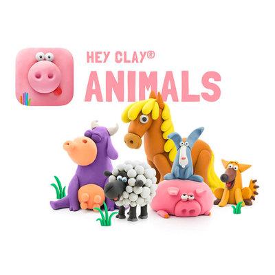 Fat Brain Toys Fat Brain Toys Hey Clay Animals