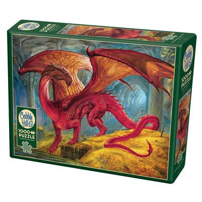 Cobble Hill Puzzles Cobble Hill Puzzle 1000pc Red Dragons Treasure