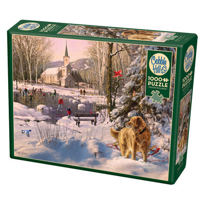 Cobble Hill Puzzles Cobble Hill Puzzle 1000pc Skating Party