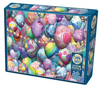 Cobble Hill Puzzle 500pc Party Balloons