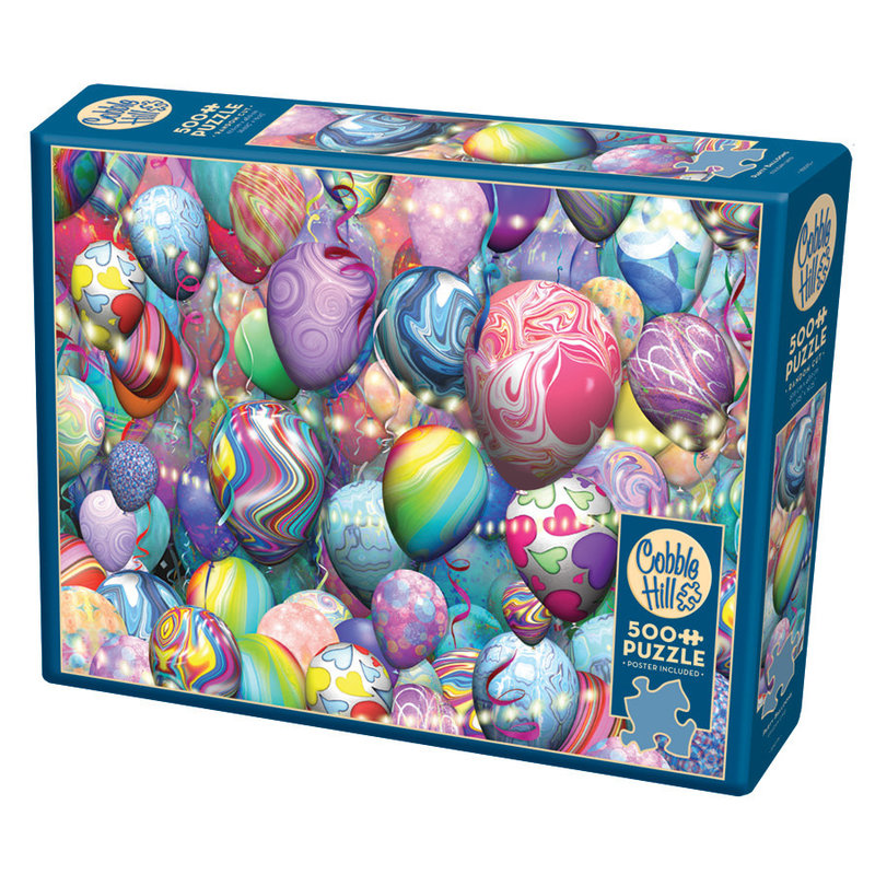 Cobble Hill Puzzles Cobble Hill Puzzle 500pc Party Balloons