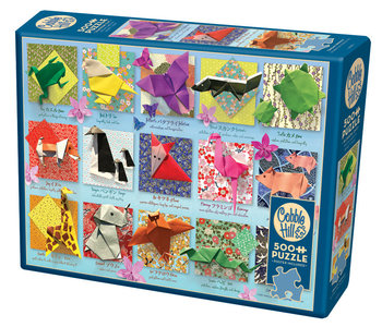 Cobble Hill Puzzle 500pc Origami Animals