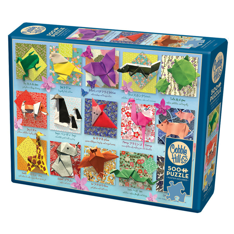 Cobble Hill Puzzles Cobble Hill Puzzle 500pc Origami Animals
