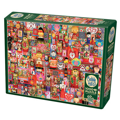 Cobble Hill Puzzles Cobble Hill Puzzle 1000pc Dollies