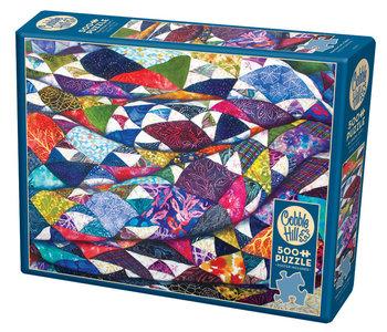 Cobble Hill Puzzle 500pc Portrait of a Quilt