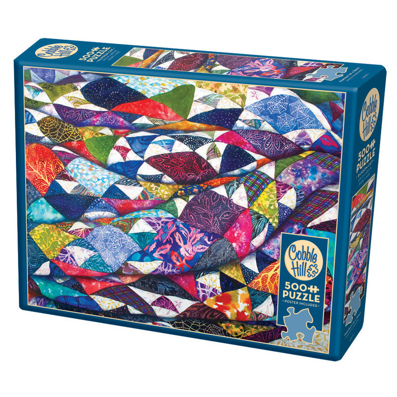 Cobble Hill Puzzles Cobble Hill Puzzle 500pc Portrait of a Quilt