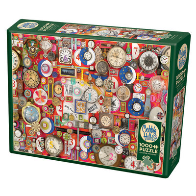 Cobble Hill Puzzles Cobble Hill Puzzle 1000pc Time Pieces