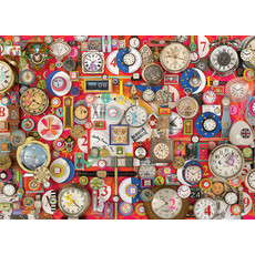 Cobble Hill Puzzles Cobble Hill Puzzle 1000pc Time Pieces