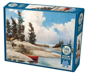 Cobble Hill Puzzle 500pc A Day at the Lake