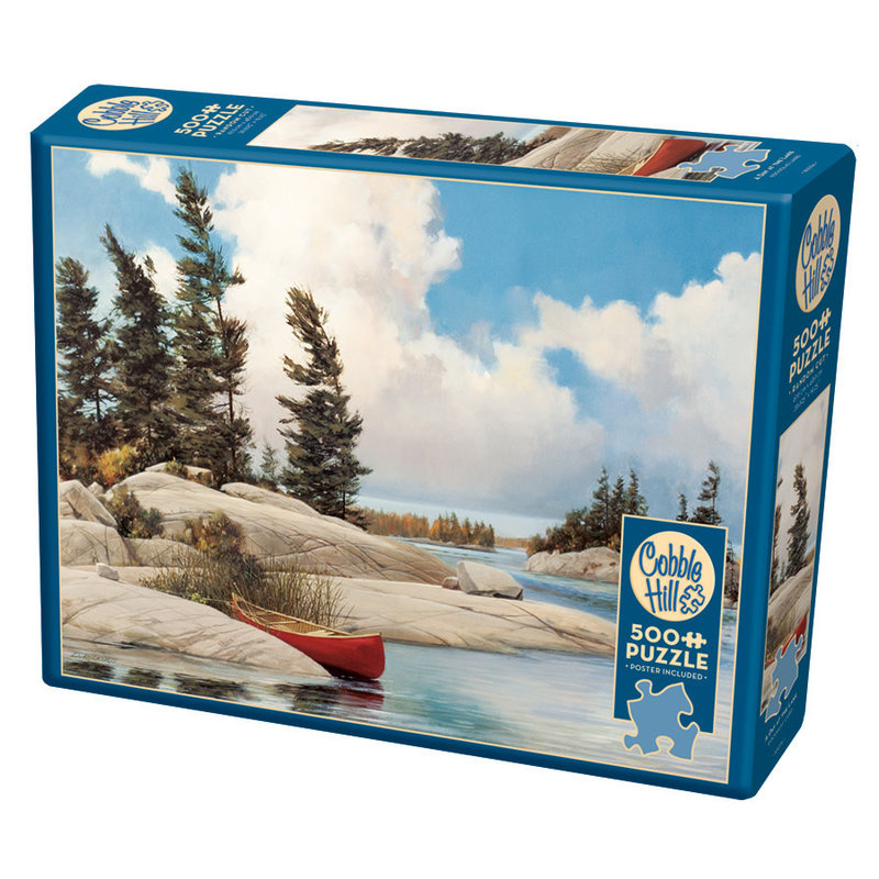 Cobble Hill Puzzles Cobble Hill Puzzle 500pc A Day at the Lake