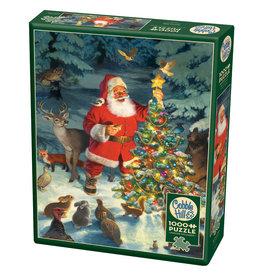 Cobble Hill Puzzles Cobble Hill Puzzle 1000pc Santas Tree