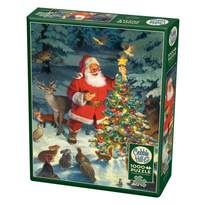 Cobble Hill Puzzles Cobble Hill Puzzle 1000pc Santas Tree