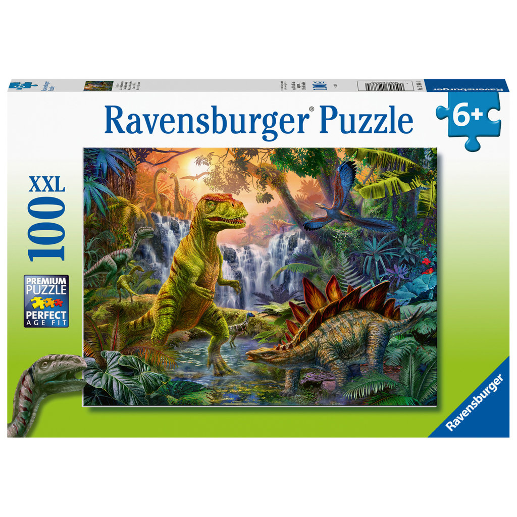 Ravensburger Ravensburger Puzzle 100pc Dinosaur Oasis