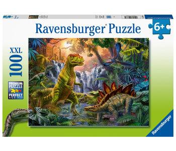 Ravensburger Puzzle 100pc Dinosaur Oasis