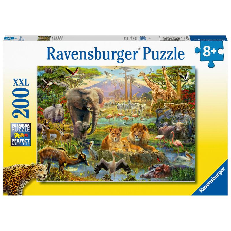Ravensburger Ravensburger Puzzle 200pc Animals of the Savanna
