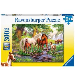 Ravensburger Ravensburger Puzzle 300pc Horses by the Stream
