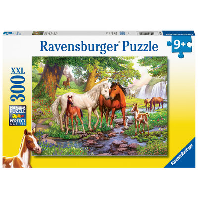 Ravensburger Ravensburger Puzzle 300pc Horses by the Stream