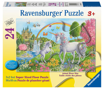 Ravensburger Floor Puzzle 24pc Prancing Unicorns