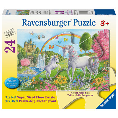 Ravensburger Ravensburger Floor Puzzle 24pc Prancing Unicorns