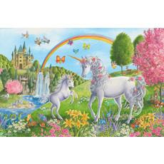 Ravensburger Ravensburger Floor Puzzle 24pc Prancing Unicorns