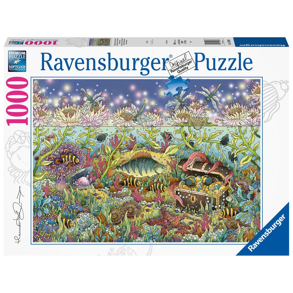 Ravensburger Ravensburger Puzzle 1000pc Underwater Kingdom at Dusk