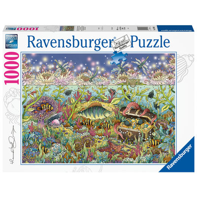 Ravensburger Ravensburger Puzzle 1000pc Underwater Kingdom at Dusk
