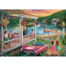 Ravensburger Ravensburger Puzzle 300pc Large Format Summer at the Lake
