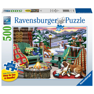 Ravensburger Ravensburger Puzzle 500pc Large Format Apres All Day